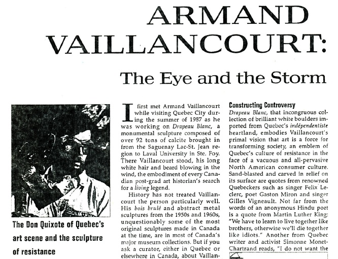 armand vaillancourt   the eye and the storm